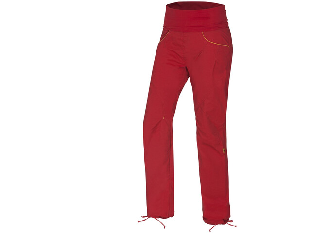 Ocun Noya Pants Damen red/yellow
